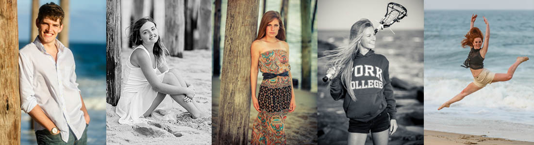 ocean city salisbury md senior portraits modeling session professional photographer